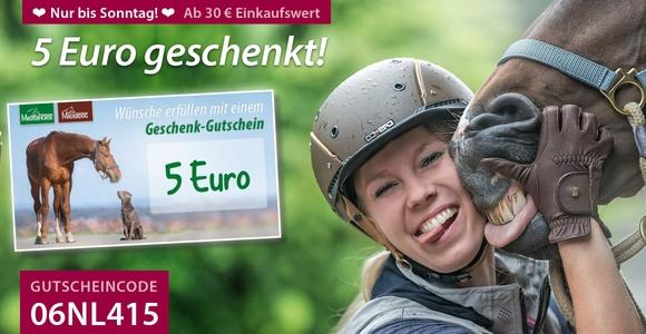 Für kurze Zeit: 5 Euro geschenkt!